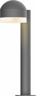 Sonneman 7303.DC.FW.74.WL REALS Contemporary Textured Gray LED Outdoor Landscape Lighting Fixture