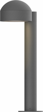 Sonneman 7303.DC.PL.74.WL REALS Contemporary Textured Gray LED Outdoor Residential Landscape Lighting