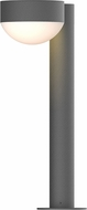Sonneman 7303.PC.DL.74.WL REALS Contemporary Textured Gray LED Outdoor Landscape Light
