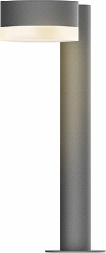Sonneman 7303.PC.FW.74.WL REALS Contemporary Textured Gray LED Outdoor Landscape Lighting Fixture