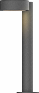 Sonneman 7303.PC.PL.74.WL REALS Contemporary Textured Gray LED Outdoor Residential Landscape Lighting