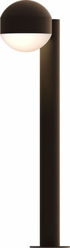 Sonneman 7304.DC.DL.72.WL REALS Modern Textured Bronze LED Exterior Landscape Lighting