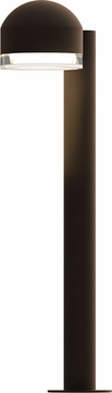 Sonneman 7304.DC.FH.72.WL REALS Modern Textured Bronze LED Exterior Landscaping Light