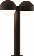 Sonneman 7306.DC.DL.72.WL REALS Modern Textured Bronze LED Exterior Landscape Lighting