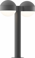 Sonneman 7306.DC.DL.74.WL REALS Contemporary Textured Gray LED Outdoor Landscape Light