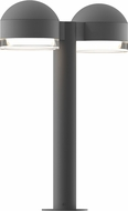 Sonneman 7306.DC.FH.74.WL REALS Contemporary Textured Gray LED Outdoor Pathway Lighting