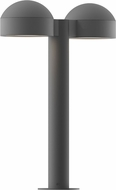 Sonneman 7306.DC.PL.74.WL REALS Contemporary Textured Gray LED Outdoor Residential Landscape Lighting