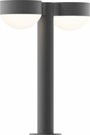 Sonneman 7306.PC.DL.74.WL REALS Contemporary Textured Gray LED Outdoor Landscape Light