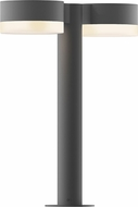 Sonneman 7306.PC.FW.74.WL REALS Contemporary Textured Gray LED Outdoor Landscape Lighting Fixture