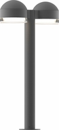 Sonneman 7307.DC.FH.74.WL REALS Contemporary Textured Gray LED Outdoor Pathway Lighting