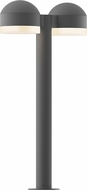 Sonneman 7307.DC.FW.74.WL REALS Contemporary Textured Gray LED Outdoor Landscape Lighting Fixture