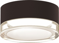 Sonneman 7309.XX.FH.72.WL REALS Contemporary Textured Bronze LED Outdoor Home Ceiling Lighting