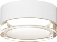 Sonneman 7309.XX.FH.98.WL REALS Contemporary Textured White LED Outdoor Overhead Lighting Fixture