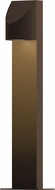 Sonneman 7312.72.WL Shear Modern Textured Bronze LED Exterior Landscaping Light