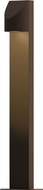 Sonneman 7313.72.WL Shear Modern Textured Bronze LED Exterior Landscape Lighting Design