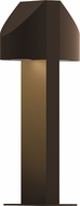 Sonneman 7315.72.WL Shear Modern Textured Bronze LED Exterior Landscape Light Fixture