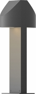 Sonneman 7315.74.WL Shear Contemporary Textured Gray LED Outdoor Residential Landscape Lighting