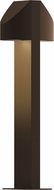 Sonneman 7316.72.WL Shear Modern Textured Bronze LED Exterior Landscape Lighting