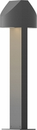 Sonneman 7316.74.WL Shear Contemporary Textured Gray LED Outdoor Landscape Light