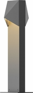 Sonneman 7325.74.WL Triform Compact Modern Textured Gray LED Exterior Pathway Lighting