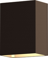 Sonneman 7340.72.WL Box Contemporary Textured Bronze LED Outdoor Wall Mounted Lamp