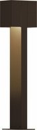 Sonneman 7346.72.WL Box Modern Textured Bronze LED Exterior Landscape Lighting