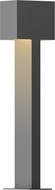 Sonneman 7346.74.WL Box Contemporary Textured Gray LED Outdoor Landscape Light