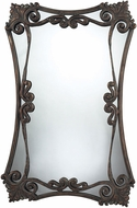 Sterling 114-04 Iron Bridge Copper & Distressed Patina Wall Mounted Mirror