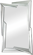 Sterling 114-65 Juxtaposed Angles Contemporary Clear Wall Mounted Mirror