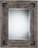 Sterling 116-005 Staffordshore Brown Wall Mounted Mirror