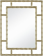 Sterling 1218-1021 Grand Gold Plated Stainless Steel And Mirror Wall Mirror