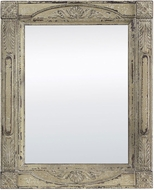 Sterling 128-1038 Fairbury Aged Antique Cream Wall Mirror