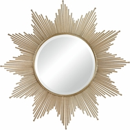 Sterling 132-011 Churchfield Contemporary Gold Leaf Wall Mirror
