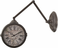 Sterling 138-094 New York Subway Pewter Double Sided Wall Clock With Map Of New York Subway