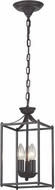 Sterling 140-002 Arthur Aged Bronze Foyer Lighting