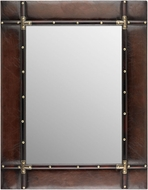 Sterling 170-006 Travelers Dark Tan Wall Mirror