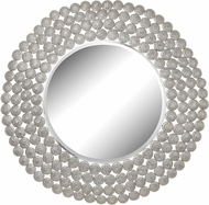 Sterling 172-013 Pierced Metal Nickel Wall Mirror
