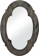 Sterling 26-8654 Berkely Aged Wood & Hand Rubbed Gold Wall Mirror
