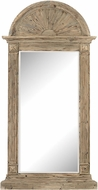Sterling 3100-006 Classical Arch Aged Warm Oak Wall Mirror