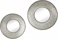 Sterling 3138-261-S2 Choptank Oxidized Aluminum Wall Mirror - Set of 2