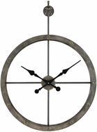 Sterling 3138-400 D�p�che Wall Vintage Grey Iron Wall Clock