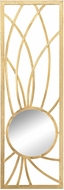 Sterling 3200-045 Elan Contemporary Gold Wall Mirror
