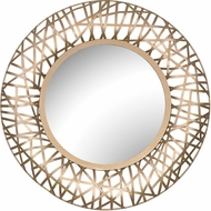 Sterling 3200-097 Field Soft Gold Wall Mirror