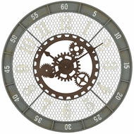 Sterling 3205-004 Roadshow Vintage Greenpoint Grey Wall Clock