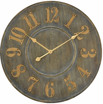 Sterling 3205-005 Queensland Retro Govern Grey Wall Clock