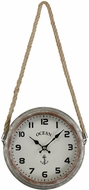 Sterling 3205-009 Somers Point Vintage Salvaged Metal Wall Clock