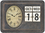 Sterling 3215-001 Fallout Retro Antique Black Wall Clock