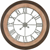 Sterling 3215-008 Kronborg Vintage Bronze And Maple Wall Clock