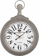 Sterling 351-10244 Haymarket Preda Aged Grey Haymarket Wall Clock In Preda Aged Grey