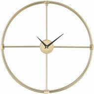 Sterling 351-10543 Centuriata Contemporary Gold Wall Clock